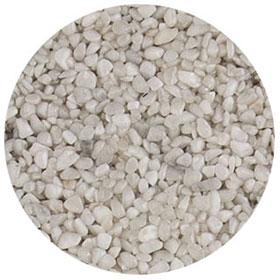 granulat blanc-carrare pour terrasse en résine