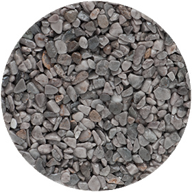 granulat gris taupe pour terrasse en résine
