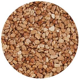 granulat marron-clair pour terrasse en résine
