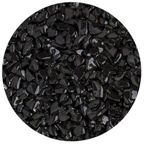 granulat noir pour terrasse en résine